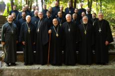 Charleston clergy at retreat, 2013