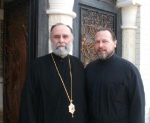 Metropolitan SABA and Fr. Joseph Huneycutt