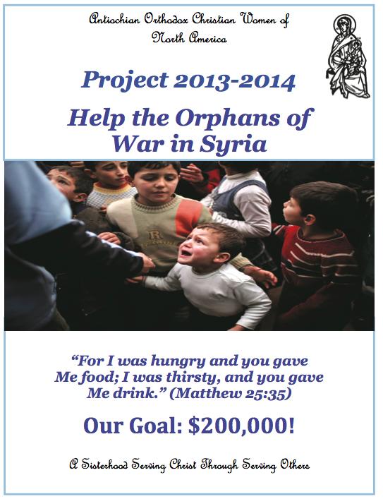 Antiochian Women Project, 2013-2014