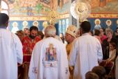 Bishop Thomas elevates Fr. Noah Bushelli