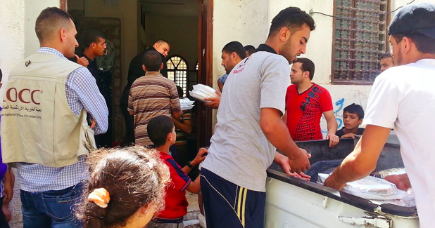 IOCC's Gaza relief, August 2014