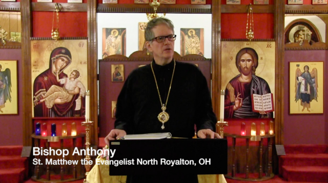 St. Matthew the Evangelist Antiochian Orthodox Church Hosts Bishop Anthony