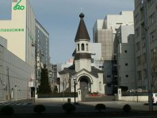 The Orthodox Cathedral in Sendai, Japan