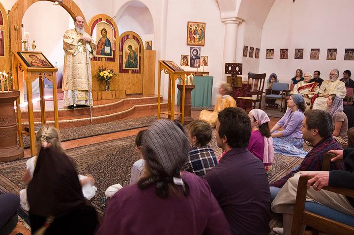 Bishop Basil Visits Holy Trinity + Santa Fe, NM