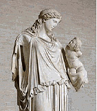 The Greek Pagan goddess Eirene