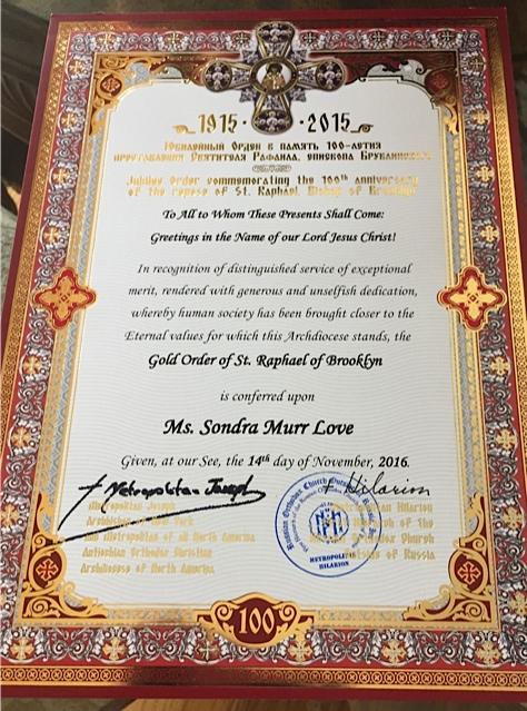 Sondra Murr Love + Memory Eternal!