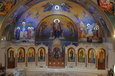 Inside Ss. Peter and Paul Antiochian Orthodox Christian Church of Potomac, MD