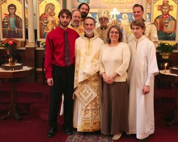 Ordination of Herman Acker to the Priesthood