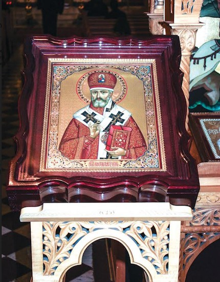 St. Raphael icon from St. Nicholas Cathedral