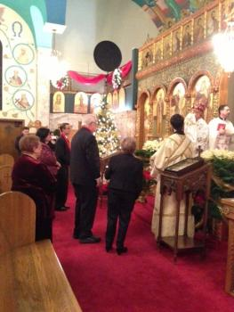 Bishop Thomas' Nativity Visit to St. George Cathedral + Pittsburgh PA