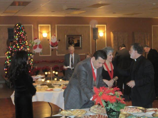 2010 Annual Christmas Reception with Metropolitan Philip
