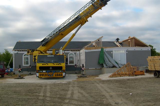 Construction on New Church Building for St. Andrew Mission + Lewes, DE
