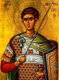 St. Demetrios the Myrrhbearer
