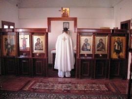 St. Eleftherios Day Liturgy in Al-Sweda, Bosra-Hauran, Syria