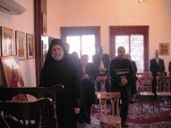Metropolitan Saba + St. Eleftherios Day Liturgy in Al-Sweda, Bosra-Hauran, Syria