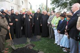 Cedars of Lebanon Planting Ceremony