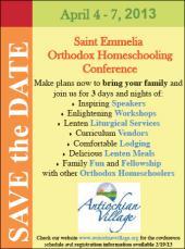 2013 St. Emmelia Homeschooling Conference