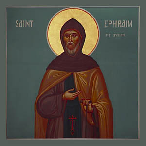 St. Ephraim the Syrian (by kind permission of Come and See Icons)