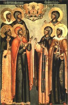 Holy Martyr Eudokia the Samaritan