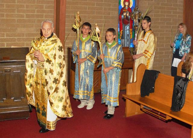 Palm Sunday at St. George Church + Akron, OH