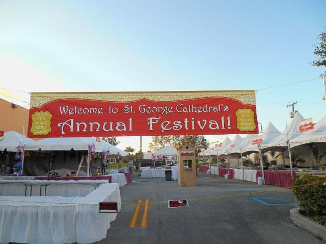 St. George Cathedral Holds Annual Middle Eastern Festival