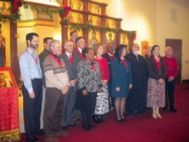Order Inductees at All Saints Church + Raleigh, NC