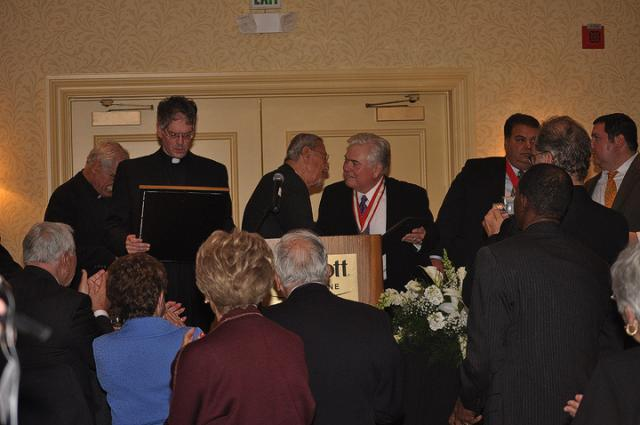 Presenting the Antiochian Gold Medal