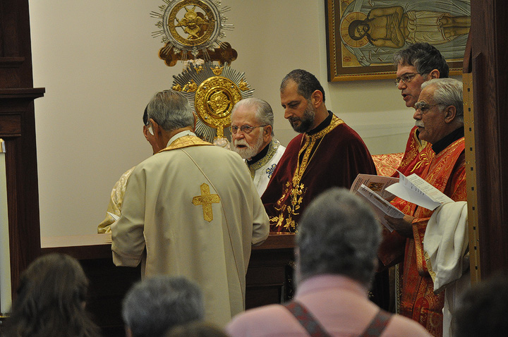 Consecrating the Altar