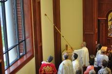 Anointing the Walls