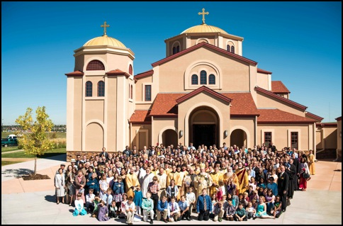 His Grace, Bishop Basil and the community of St. Luke Antiochian Orthodox Church of Erie, Colorado.