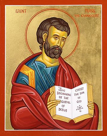 Holy Apostle and Evangelist Mark