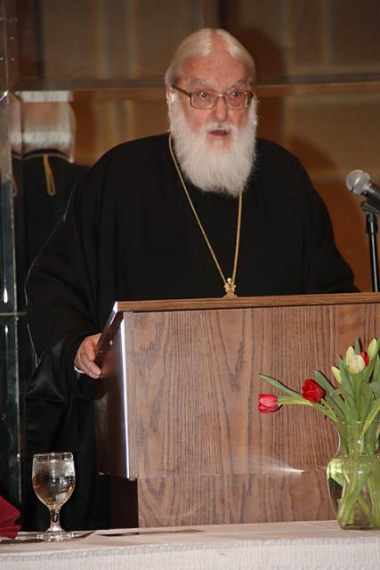 Metropolitan Kallistos Ware at St. Mary Basilica + Livonia, MI