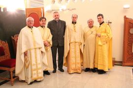 Fr. Paolo Dall'Oglia at St. Mary Basilica + Livonia, MI