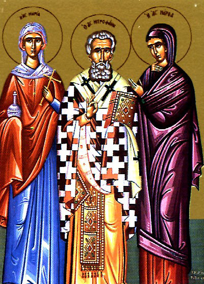 St. Metrophanes, the First Patriarch of Constantinople