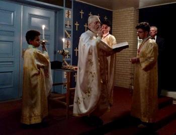 V. Rev. Fr. Gregory Lazarus Murphy, St. Michael Church, Geneva, NY (photo: Matthew Owen)
