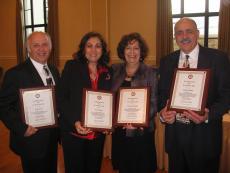 2012 Honorees at St. Nicholas Cathedral + Los Angeles, CA