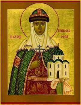 St. Olga of Russia, Equal-to-the-Apostles