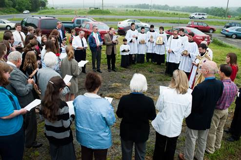 Work Begins on New Building for St. Patrick Church + Warrenton, VA