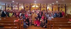 25th Anniversary Celebrations at St. Paul Church + Emmaus, PA