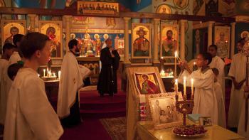 Bishop Thomas Visits St. Philip Church + Souderton, PA
