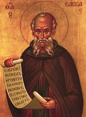 St. Sabbas the Sanctified