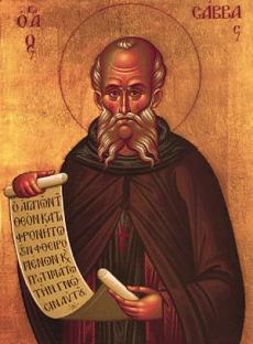 St. Sabbas the Sanctified