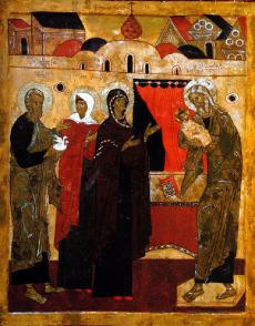 Righteous Simeon and Anna the Prophetess