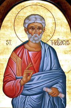 St. Thaddeus the Apostle (of the Seventy)