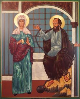 St. Thekla and Apostle Paul