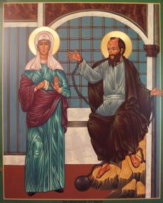 St. Thekla and Apostle Paul