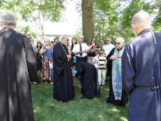 Metropolitan Philip Blesses the Convent of St. Thekla