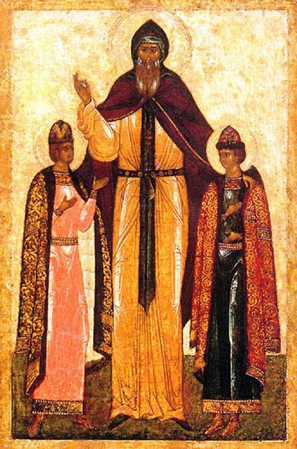 St. Theodore, Prince of Smolensk and Yaroslav