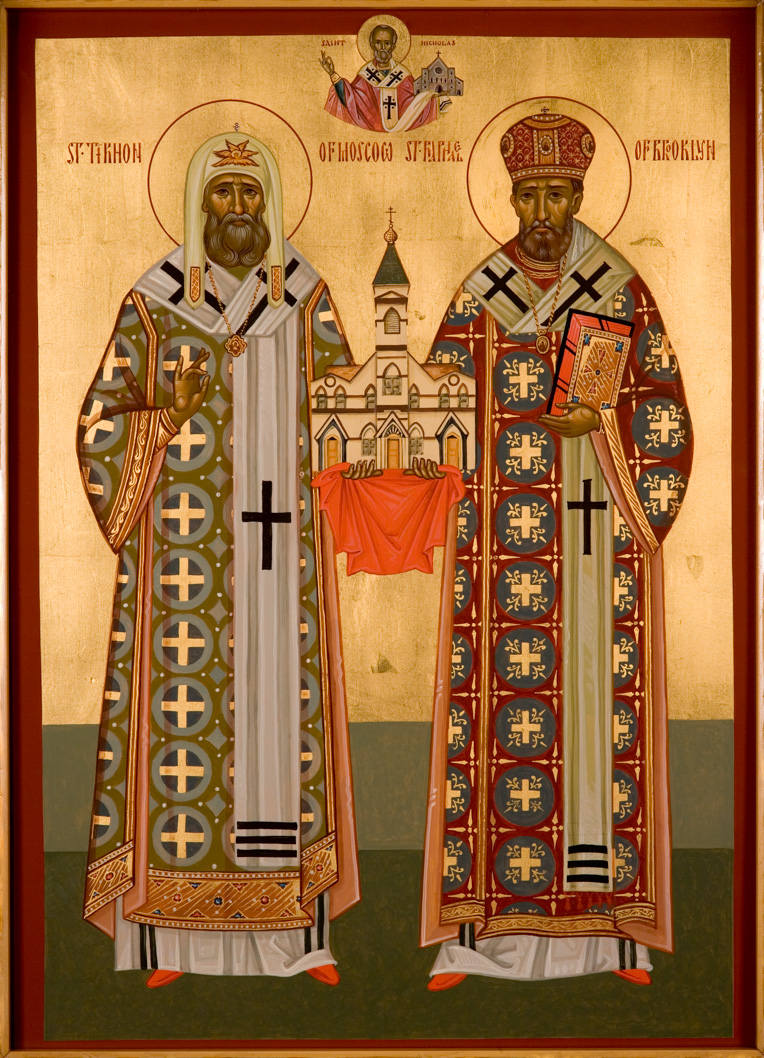 St. Tikhon of Moscow and St. Raphael of Brooklyn