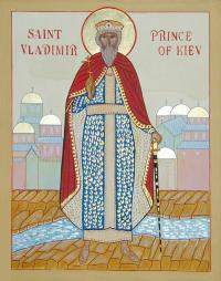Icon from St. Vladimir Orthodox Church, Halifax, NS